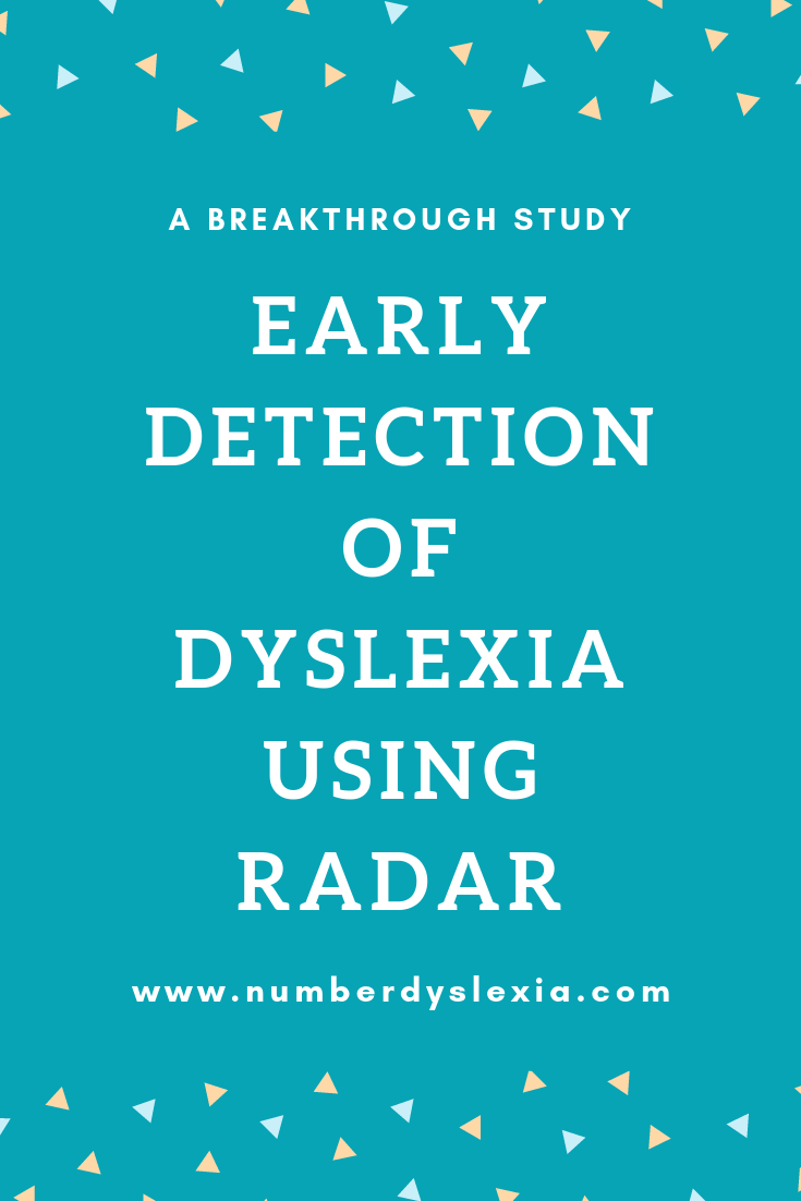 early detection of dyscalculia and dyslexia using radar