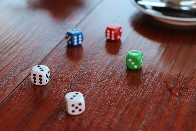 quick dice activity for building number sense