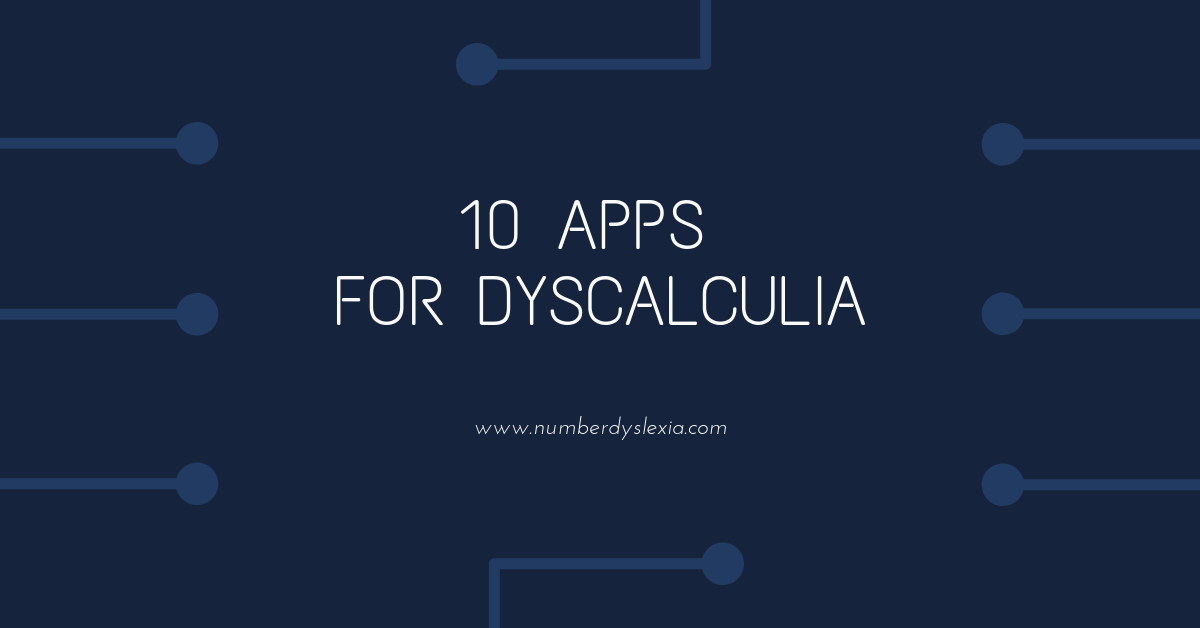 10 free Apps for Dyscalculia