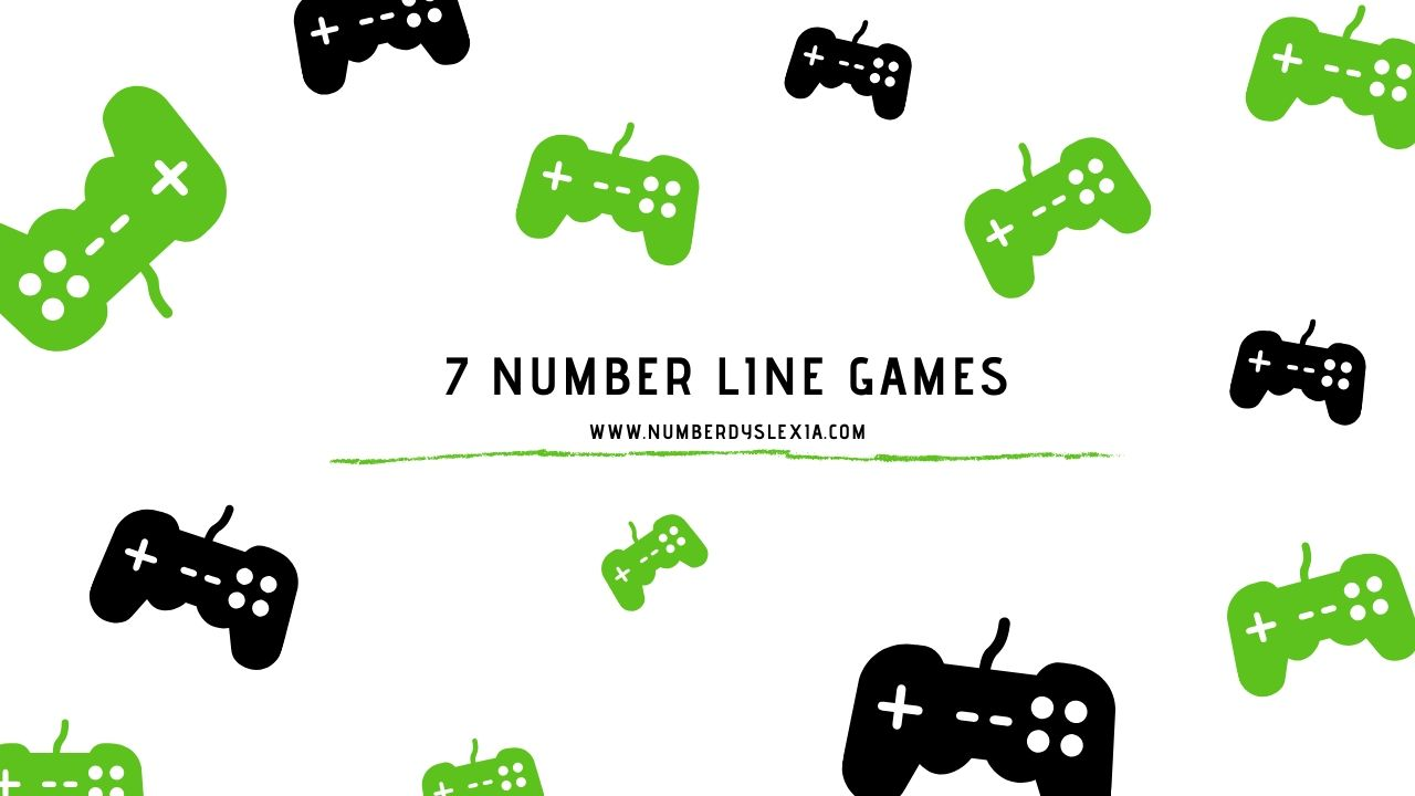 top number line games