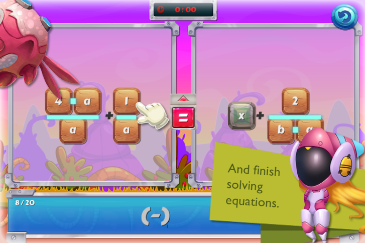 algebra bug hunter game