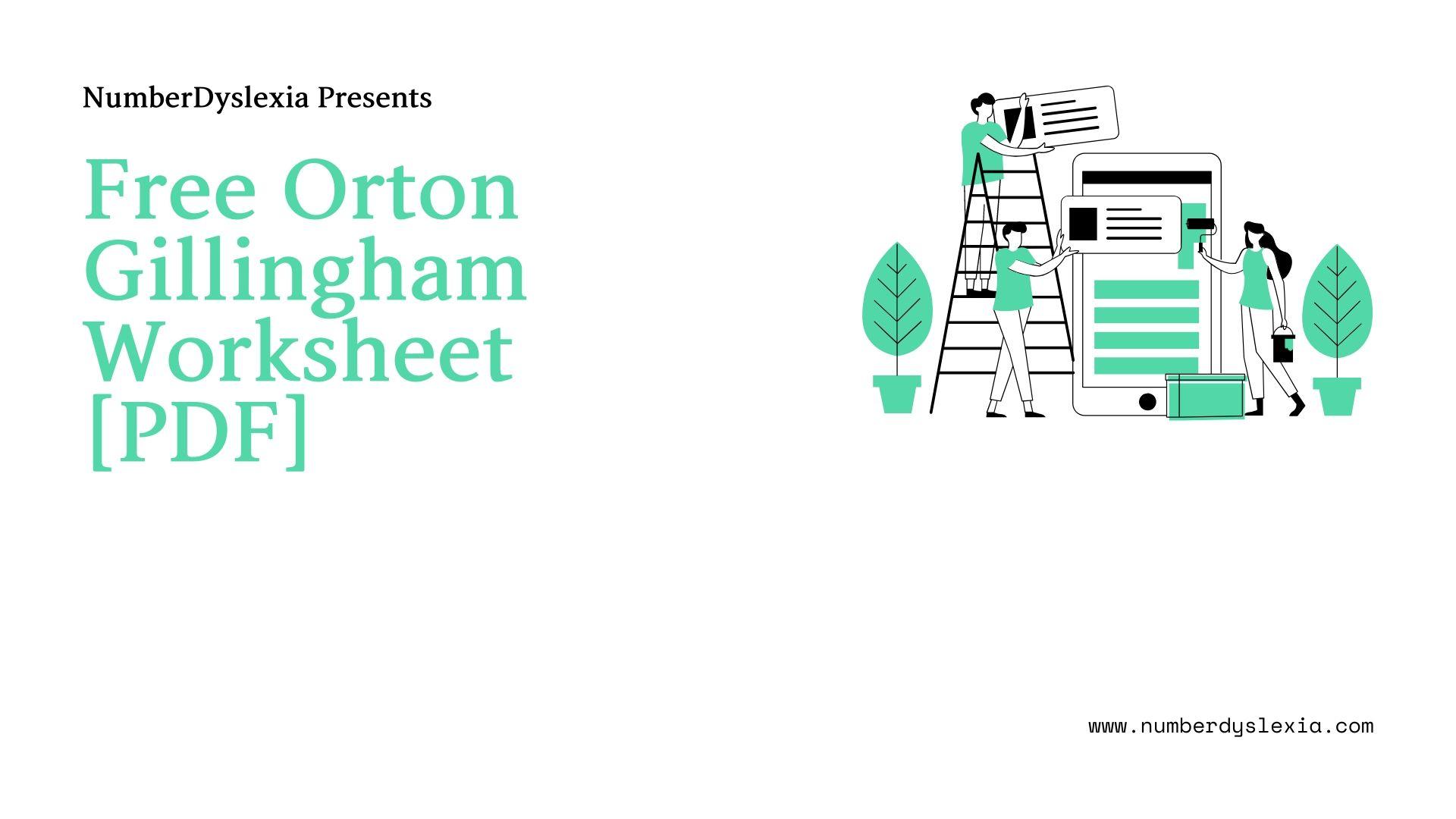 free orton gillingham printable worksheet pdf
