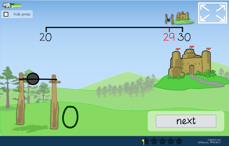 number bond catapult game free online