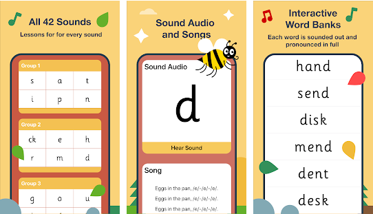 Jolly Phonics Lessons phonemic awareness apps