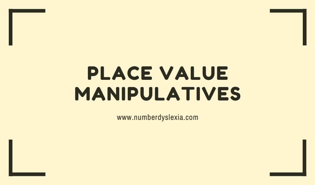 list of top 10 place value manipulatives
