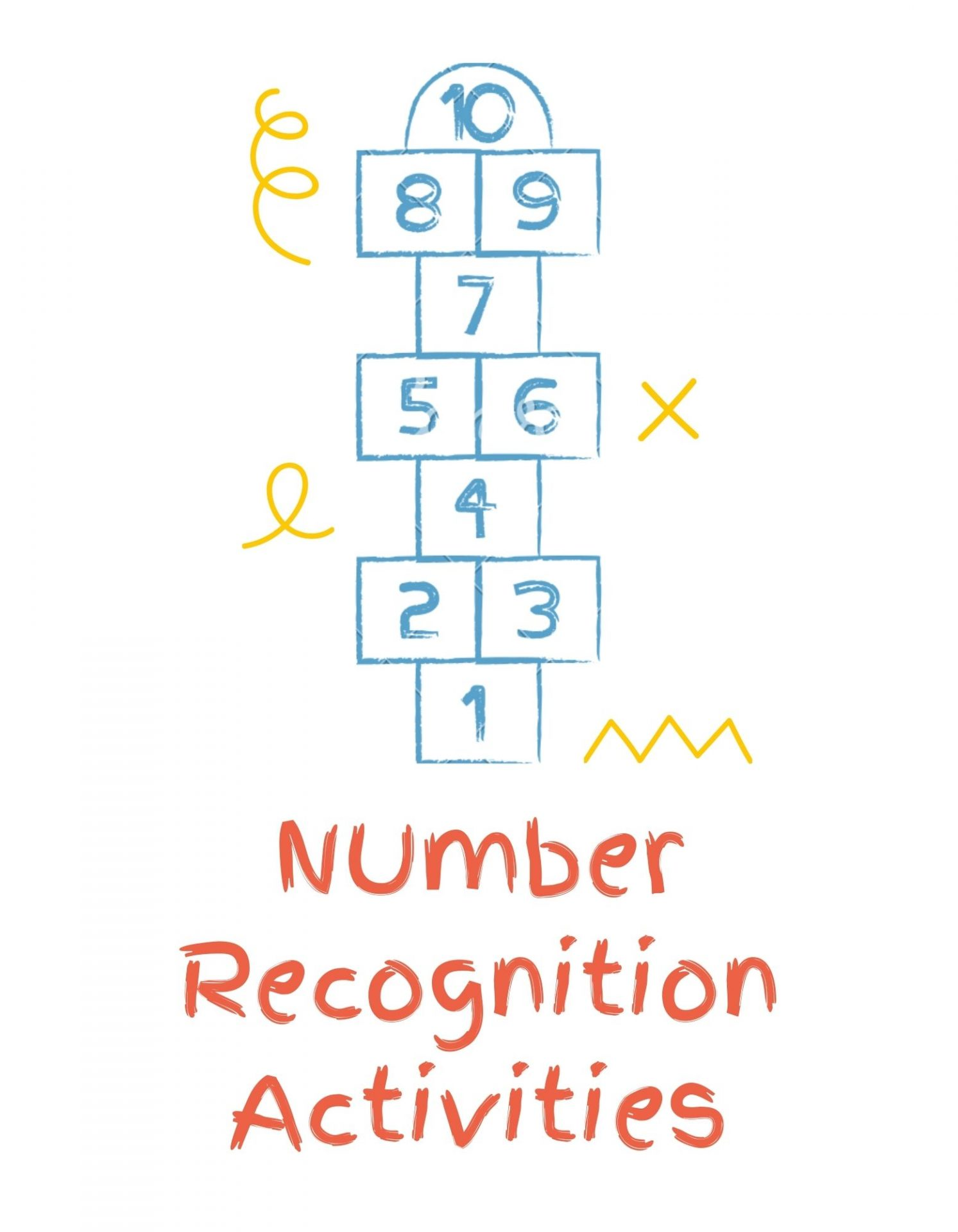 List of top 10 number recognition activities