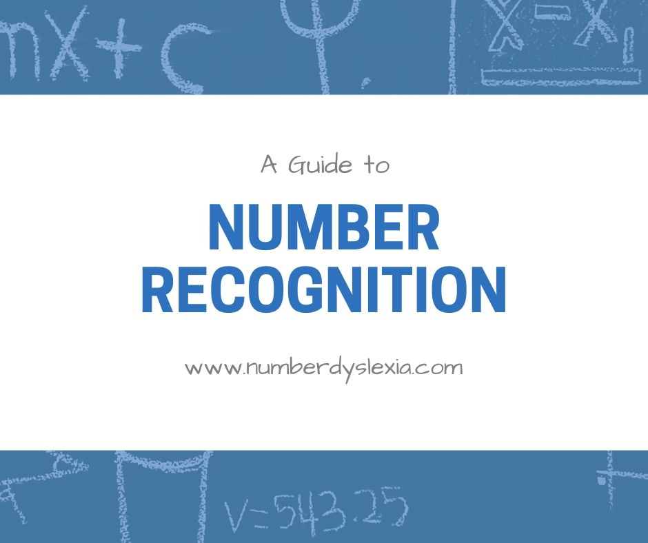 number recognition guide
