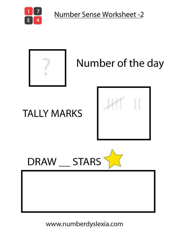 Free Printable Number Sense Worksheet for Kindergarten [PDF-2]