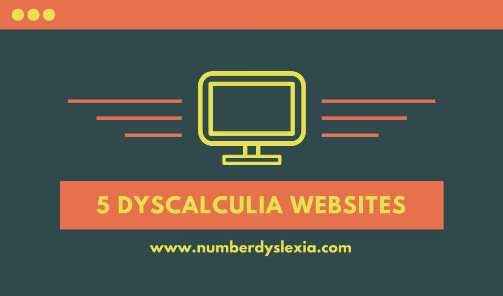 list of top 5 dyscalculia websites