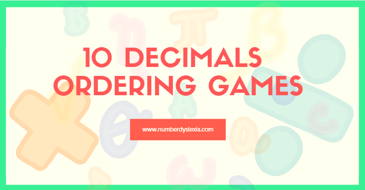 list of top 10 decimals ordering game
