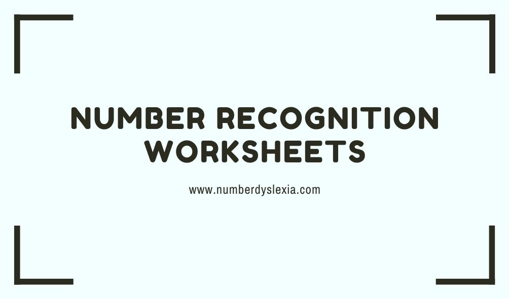 free printable number recognition worksheets 1-20 pdf