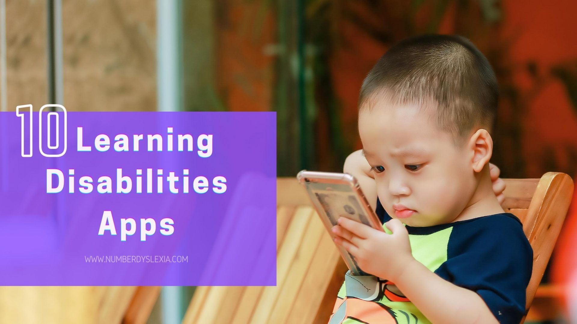 List of 10 helpful apps for learning disabilities