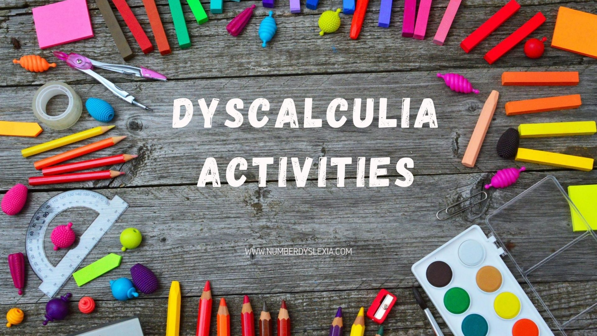 List of dyscalculia activities