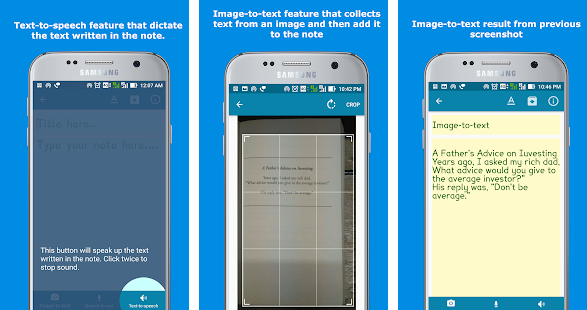 smartynote app for learning disability such as dyslexia