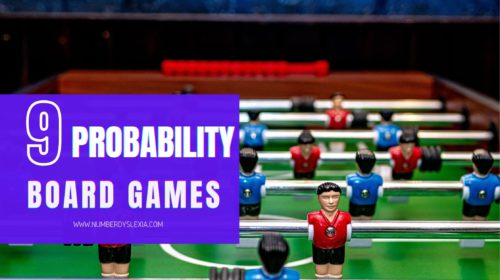 List of top 9 board games for probability