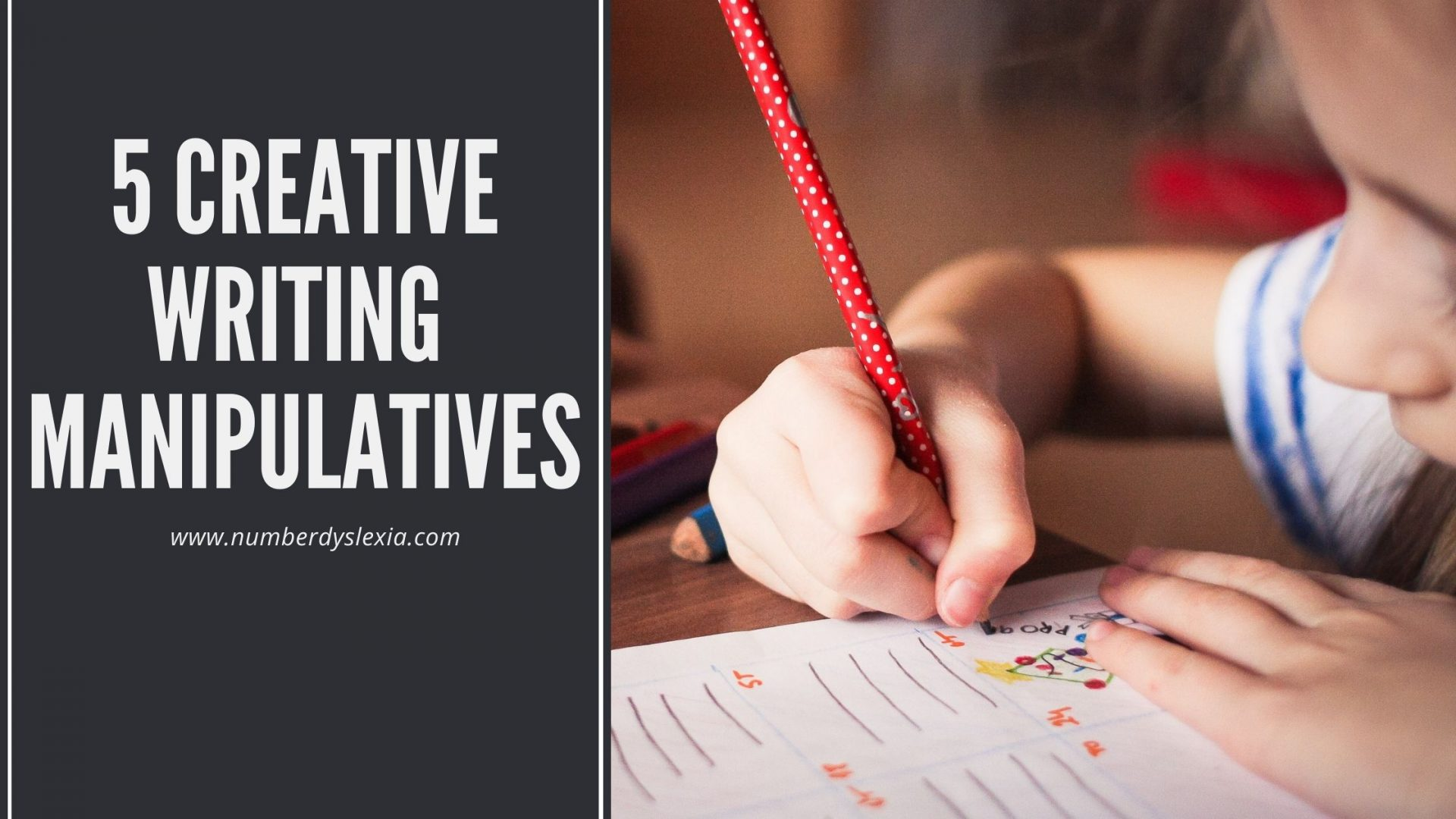List of top 5 manipulatives for writing
