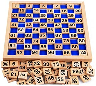 Amberetech Wooden Toys Hundred Board