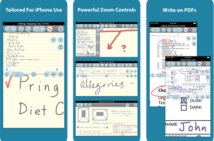 note taker hd app for dyslexia