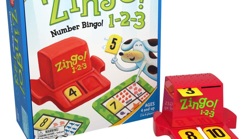 zingo board game for learning numbers