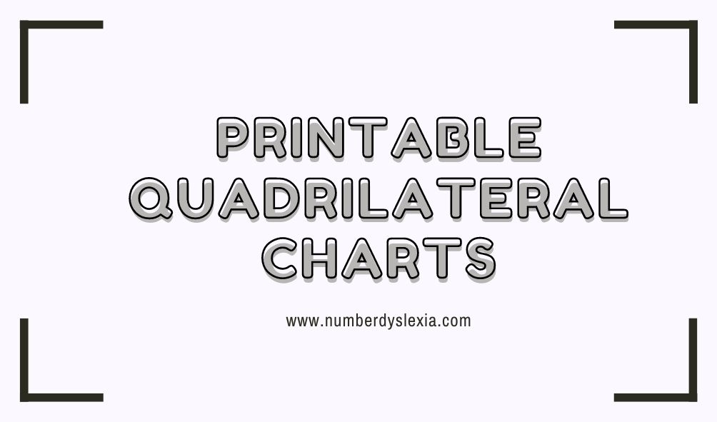quadrilateral charts pdf