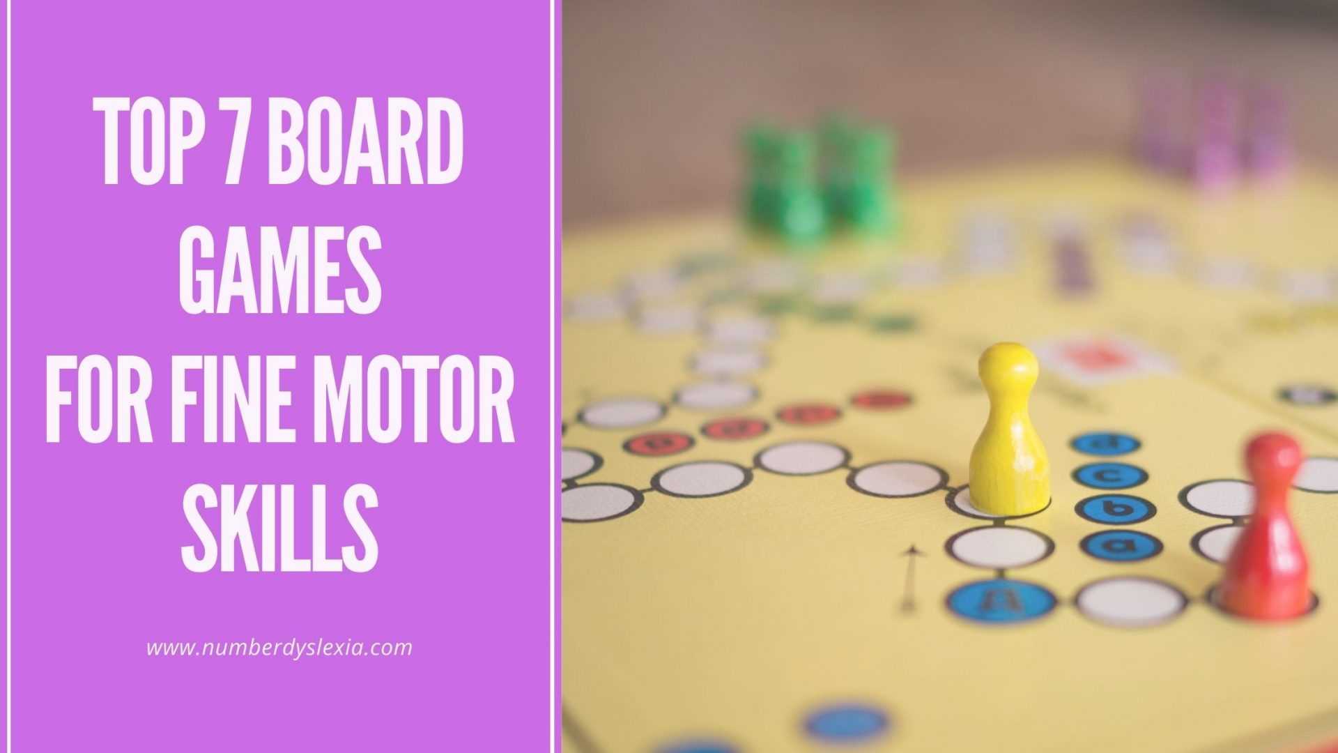 List of top 7 board games for building fine motor skills in children