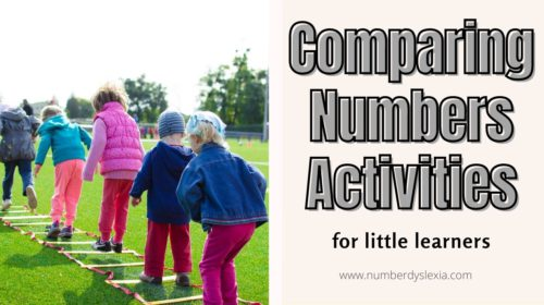 List of top 5 comparing numbers activities for little learners