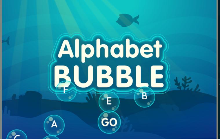 Alphabet Bubble Game