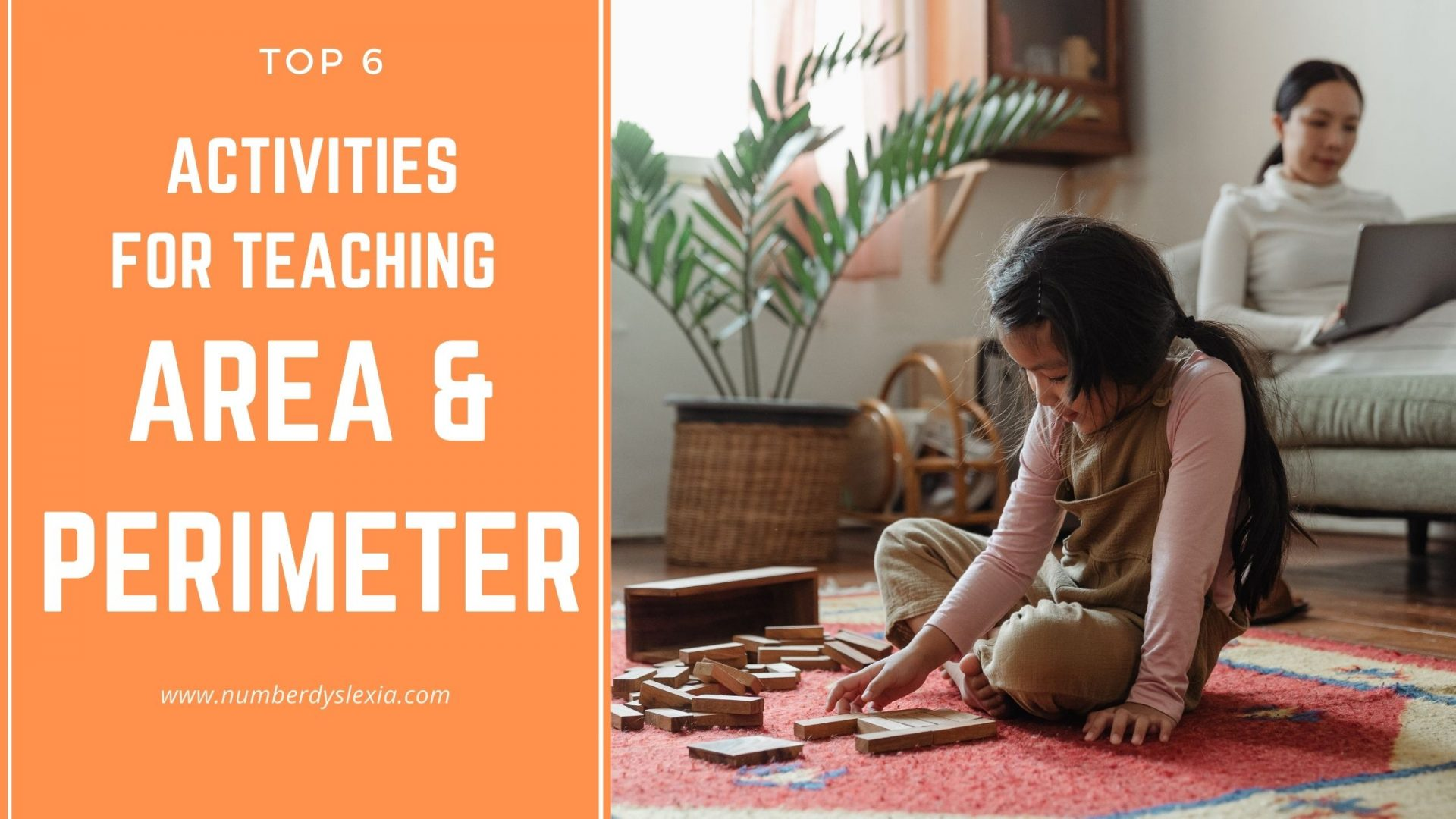 6 Simple Activities to Teach Area and Perimeter to little learners