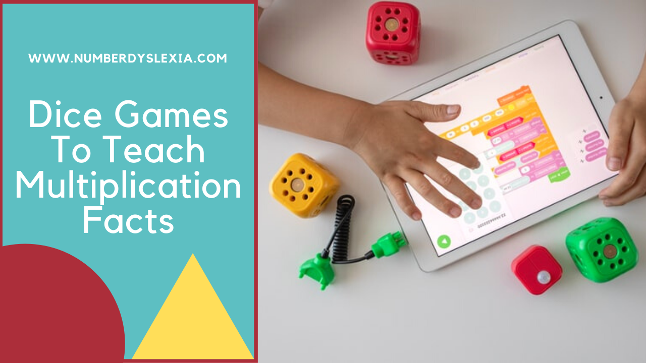 Dice Games To Teach Multiplication Facts