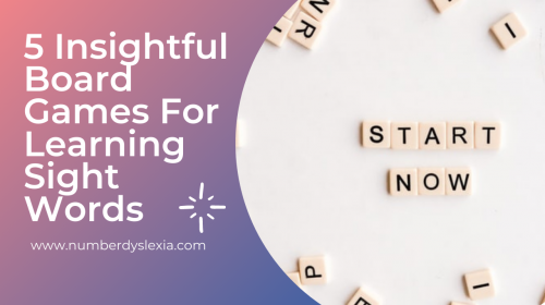 5 Insightful Board Games For Learning Sight Words