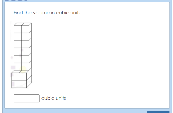 Calculate the Volume Quiz  game