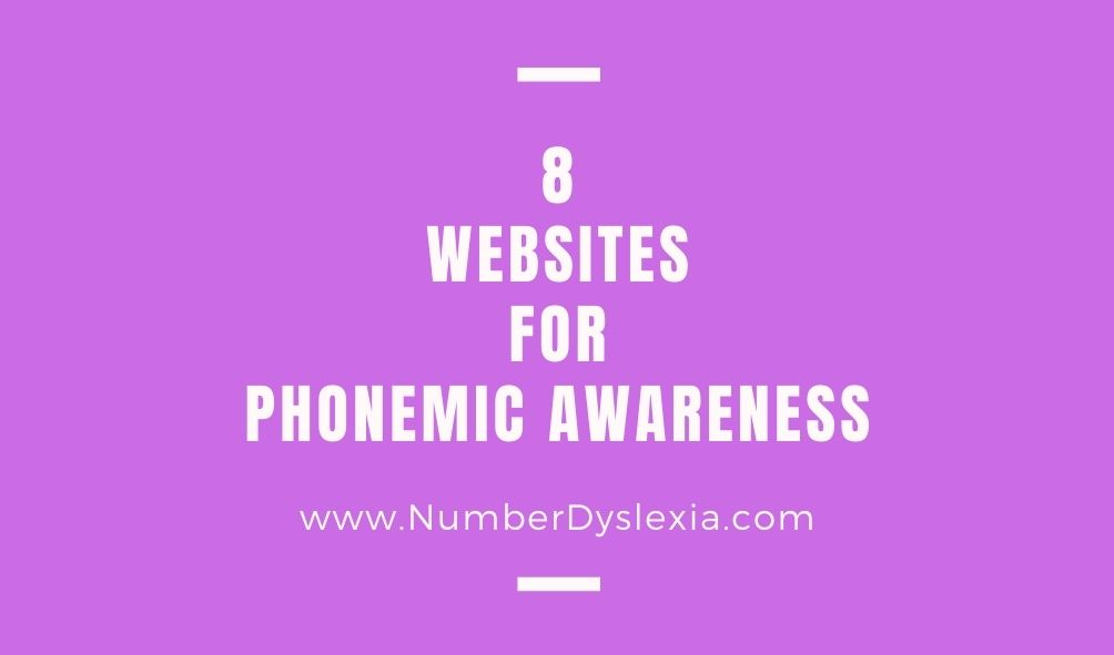 8 Websites that help in building Phonemic Awareness
