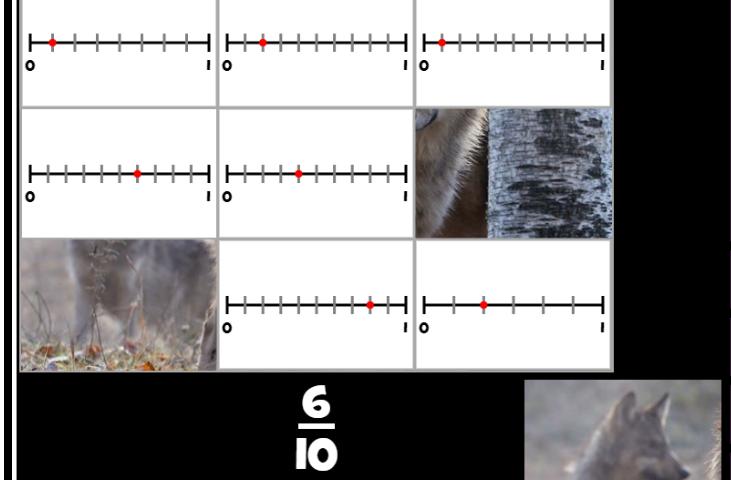 Puzzle Pics Fractions