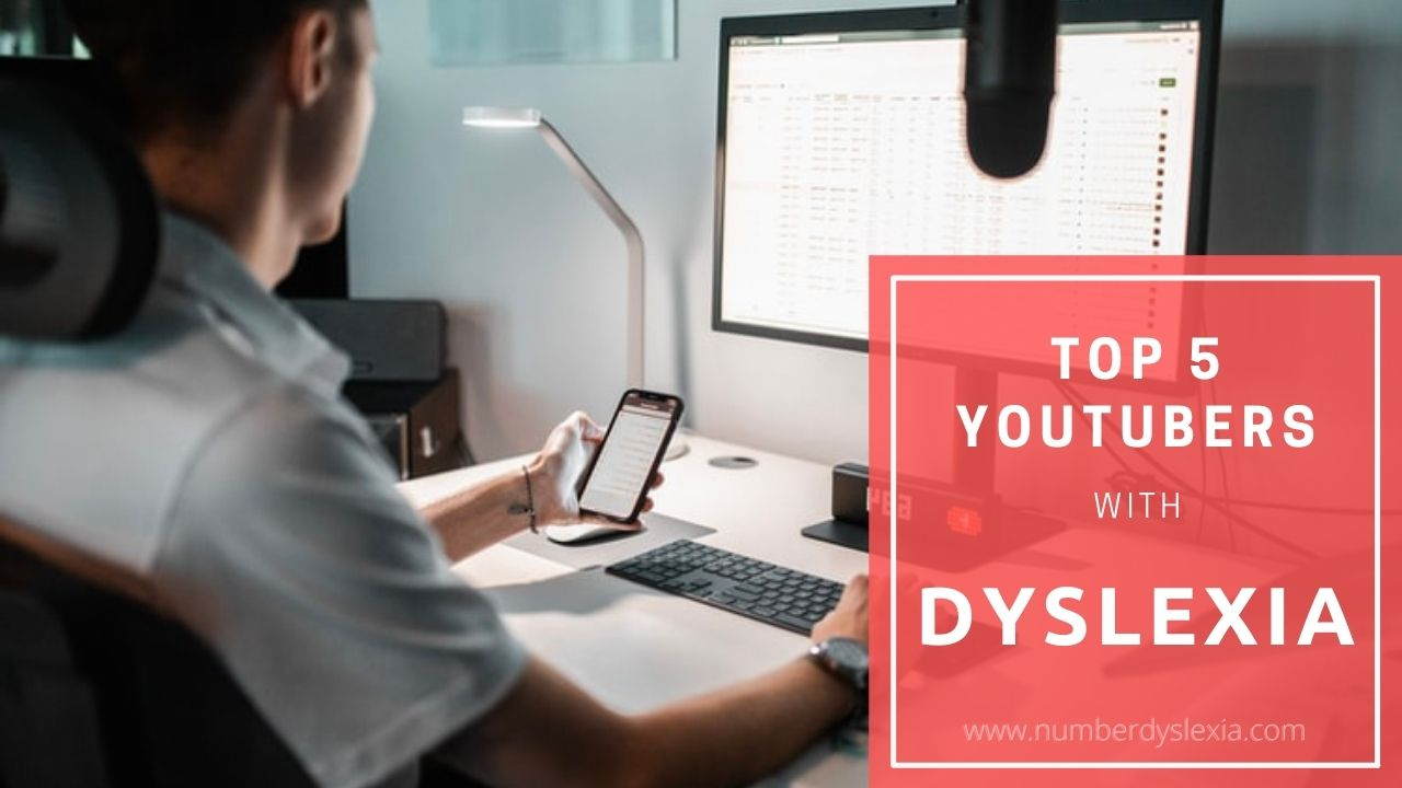 5 Famous YouTubers with Dyslexia