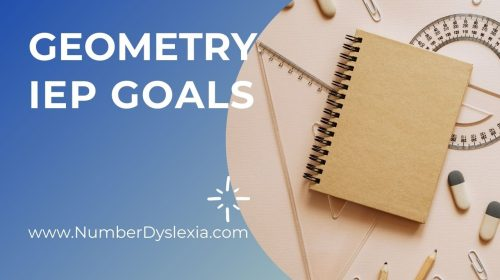 Measurable IEP Goals for Geometry
