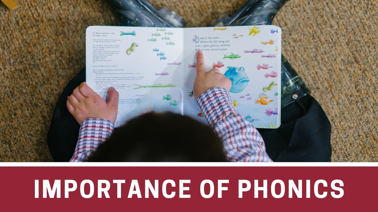 Importance of phonics in preschoolers