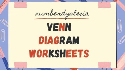 Free Printable Venn Diagram Worksheets [PDF]