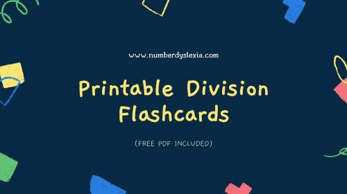 Free Printable Division Flashcards [PDF Included]