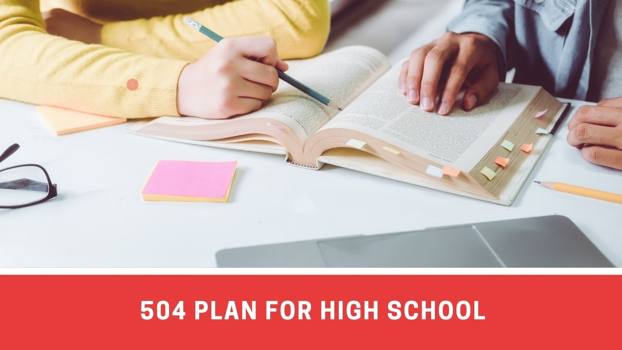 504 PLAN Accommodations For High School Students