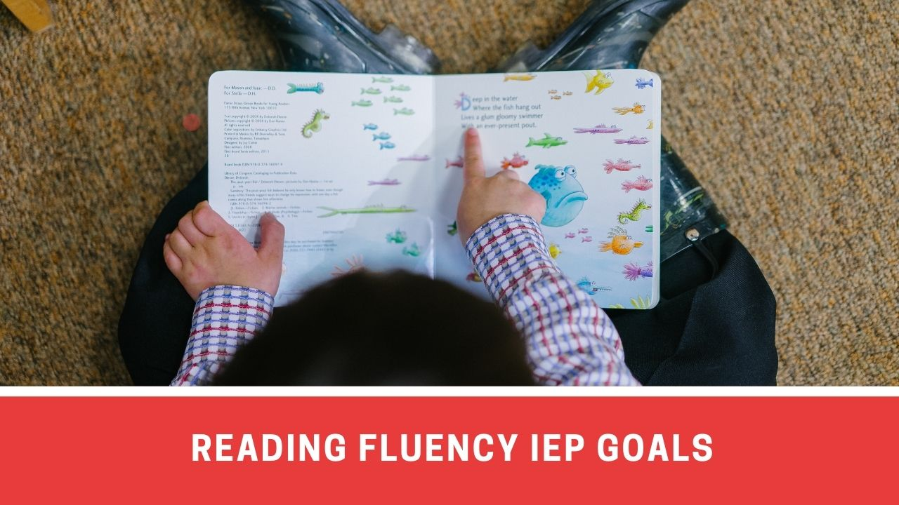 List Of IEP Goals For Reading Fluency